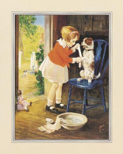 Playing Nurse - Sick Dog poster print by  Unknown