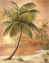 Island Palm III poster print by Ron Jenkins