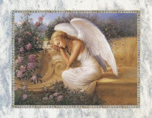Angel At Rest poster print by Ed Tadiello
