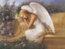 Angel At Rest poster print