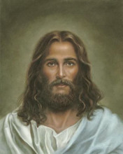 Head Of Christ poster print by  Marsh