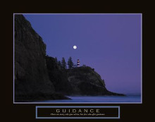 Guidance - Lighthouse poster print by Craig Tuttle