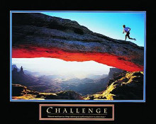 Challenge-Runner poster print by  Unknown
