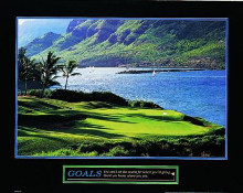 Goals-Golf poster print by  Unknown