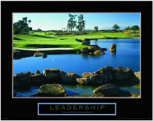 Leadership-Golf poster print by  Unknown
