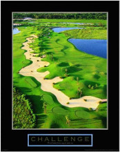 Challenge-Golf II poster print by  Unknown