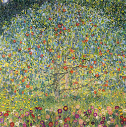 Apple Tree poster print by Gustav Klimt