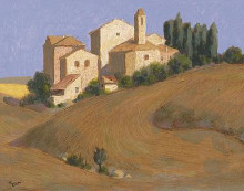 Sovana poster print by William Buffett