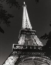 Eiffel Tower poster print by Chris Bliss