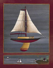 Pond Yacht I poster print by Susan Clickner