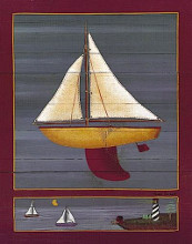Pond Yacht III poster print by Susan Clickner