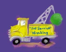 Full Service Wrecking poster print by Anthony Morrow