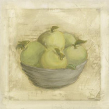 Bowl Of Apples poster print by Stela Klein