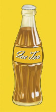 Ice Tea poster print by Santiago Poveda