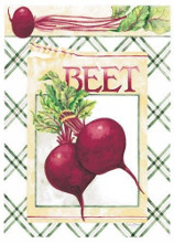 Beets poster print by Vicki Howard