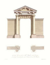 Classical Arches Hc poster print by Sir William Chambers
