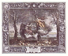 Seasons Hc poster print by Charles Le Brun