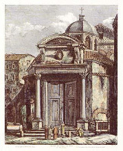 Views of Rome (Portrait) {H} poster print by Luigi Rossini