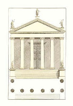 Elevations {H} poster print by Andrea Palladio