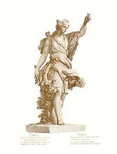 Statues from Versailles {H} poster print by Charles Le Brun