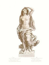 Statues from Versailles {H} poster print