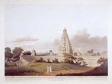 Pagoda At Tanjore poster print by Henry Salt