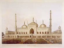 Mosque At Lucknow poster print by Henry Salt