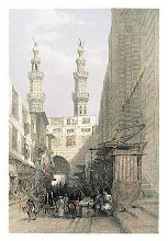 Minarets Grand Entrance-Cairo poster print