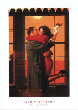 Back Where You Belong poster print by Jack Vettriano