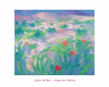 Algarve Valley poster print by John Miller