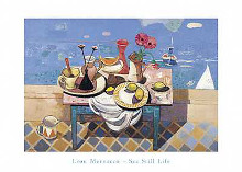 Sestill Life poster print by Leon Morrocco
