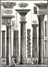 Columns-1 of 2 poster print by Giovanni B Piranesi