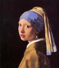 Girl with the Pearl Earring poster print by Jan Vermeer