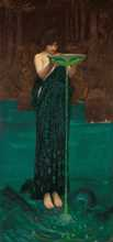 Circe Invidiosa poster print by John William Waterhouse