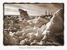 Endurance Waddell Sea Antarctica 1915 poster print by Frank Hurley