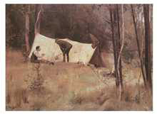 Artist's Camp 1886 poster print by Tom Roberts