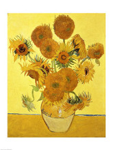 Sunflowers, 1888 poster print by Vincent van Gogh