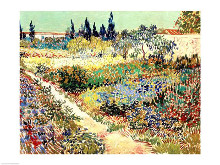 The Garden at Arles, 1888 poster print by Vincent van Gogh