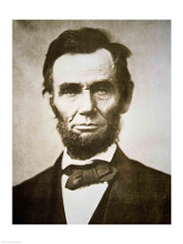Abraham Lincoln poster print by  Unknown