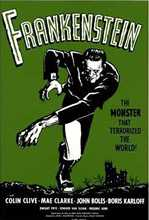 Frankenstein poster print by  None