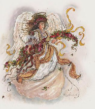 Angel Of Faith poster print by Peggy Abrams