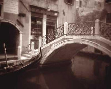Canal Bridge poster print by David Westby