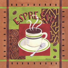 Cafe Exotica I poster print