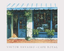 Cafe Royal poster print by Viktor Shvaiko