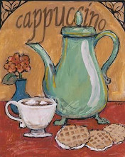 Cappuccino poster print by  The Luntz Collection