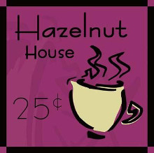 Hazelnut House poster print by  Ash Can