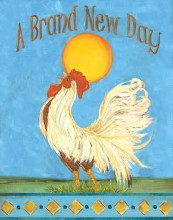 Brand New Day poster print by Grace Pullen