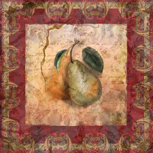Tuscany Pears poster print by Alma Lee