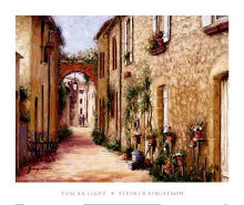 Tuscan Light poster print by Stephen Bergstrom