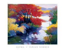 Indian Summer poster print